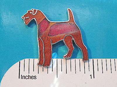 IRISH Terrier -   hat pin , lapel pin , tie tac  , hatpin  GIFT BOXED