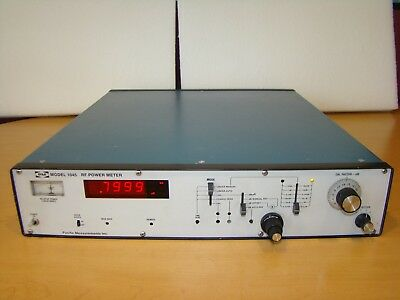 PM Pacific Measurements Inc Model 1045 RF Power Meter. Unit Not Tested!