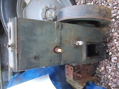 Lister D Stationary Engine Petrol TVO - Incomplete - Spares or Repair
