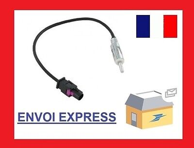 Cable Adaptateur Fakra Stereo Male Din Pour Antenne Autoradio Pour Bmw Vw Ma559