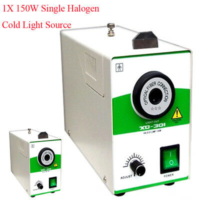 150W Single Halogen Cold Light Source Fit for Storz WOLF Olympus Medical Surgery