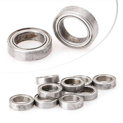 10 PCS 6700ZZ 10mm x 15mm x 4mm Model Sealed Metal Shielded Ball Bearing
