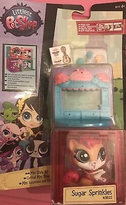 Littlest Pet Shop Mini Style Set with #3822 - Sugar Sprinkles - (B7)