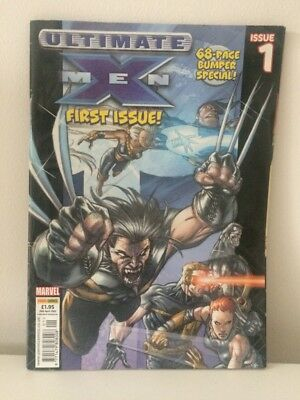 Ultimate X Men Comic First Issue Comic April 2003 68 Page Bumper Special