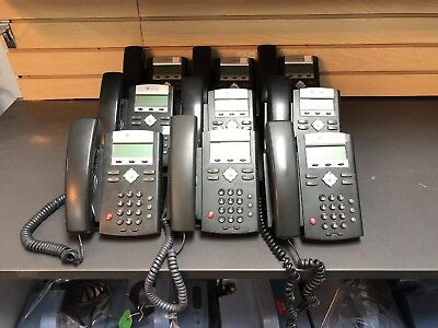 POLYCOM SOUNDPOINT IP 321 2201-12360-001 Business Phone w/ Stand