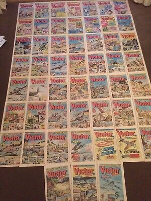 1987 VICTOR COMICS x 52 - Complete Year