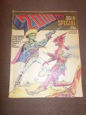 2000AD  Comic, SCI- FI Special 1978, Issue 1- Judge Dredd- Very  Good Condition