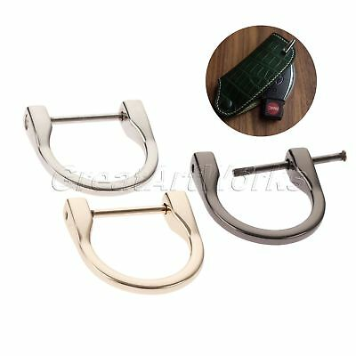 2pc Detachable Non-Welded D Rings Horseshoe Handbag Hardware Accessories 38*38mm