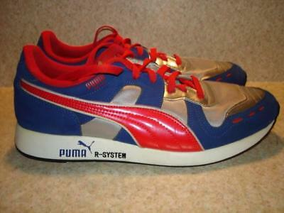 separation shoes f7064 7b2a4 ~ ~Nice Condition Nice Colors Puma Rs 100 Mens Athleltic Shoes Size 10~
