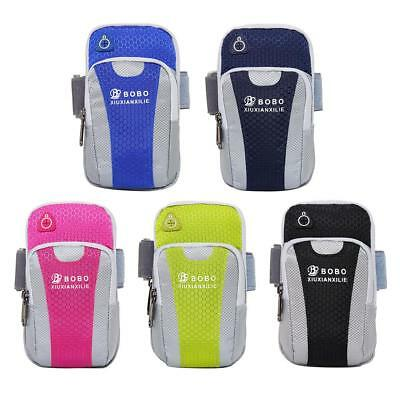 Sport Running Armband Jogging Gym Arm Band Pouch Holder Bag for iPhone Samsung
