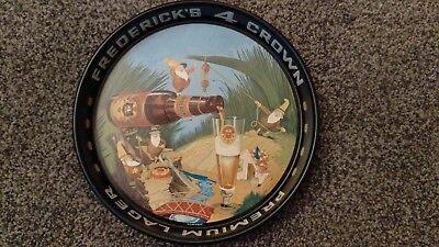 "Frederick's 4 Crown four elves tray 13"" Chicago"