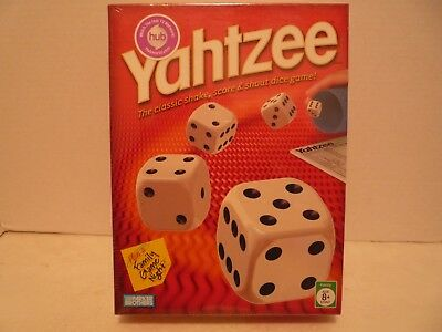 Yahtzee Classic Board Game from Parker Brothers  NEW