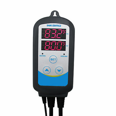 Inkbird ITC-310T-B PreWired 308S+12'' Replaceable Thermometer Probe Digital Temp