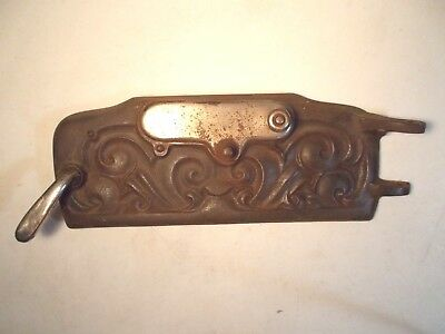 Antique Cast Iron Ornate Round Oak 16SB-T-2 Stove Lower door PD Beckwith Nice