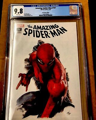 Amazing Spider-man 797 CGC 9.8 Fan Expo Dell'Otto Virgin Variant