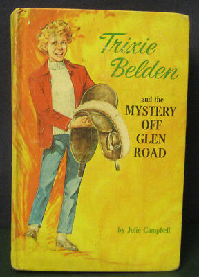 "Trixie Belden ""THE MYSTERY OFF GLEN ROAD"" - #5 - hb/pc (matte cover)"