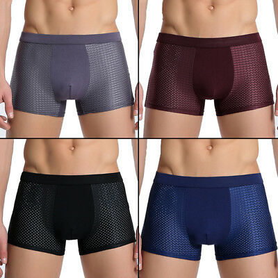 Silk boxer briefs for men sexy