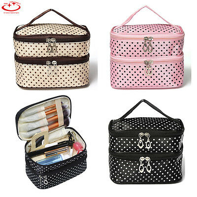 Multifunction Travel Cosmetic Makeup Bag Wash Toiletry Organizer Storage Case