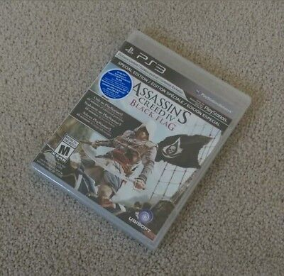 Assassin's Creed IV: Black Flag (PlayStation 3) PS3 BRAND NEW SEALED