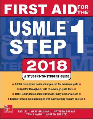 First Aid for the USMLE Step 1 2018, 28th Edition - Digital Copy (PDF Version)