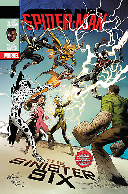 Spider-man 234 Marvel Legacy lenticular variant cover 1st print re-launch