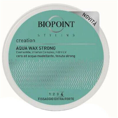 Biopoint Biopoint - Sculpteur Aqua Wax Strong 100 Ml - 8051772486396