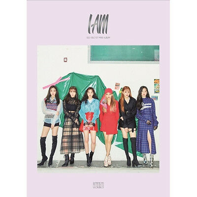 GIRL(G) I-DLE I AM 1st Mini Album CD+POSTER+Photo Book+Card+Sticker K-POP SEALED