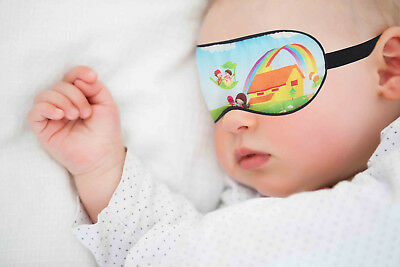 Natural Mulberry Silk Sleep Eye Mask for Kids and Babies