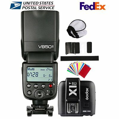 Godox V850II 2.4G HSS GN60 Camera Flash Speedlite X1T-C Transmitter for Canon