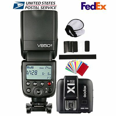 Godox V850II 2.4G HSS 1/8000s Camera Flash Speedlite X1T-N Transmitter For Nikon