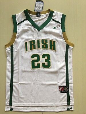 5bd1328379f NWT LeBron James  23 St. Vincent St. Mary High School Home Away Jersey