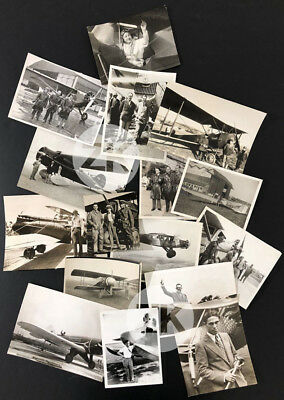 AVIATION Avion Plane AVIATEURS Aviator 16 Photos 1930s