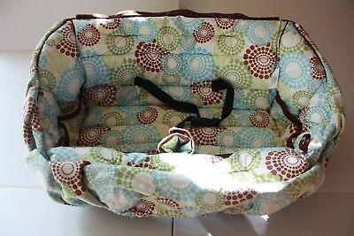 *Pre-owned* Buggy Bagg Shopping Cart Cover - Round About (Retails $89)