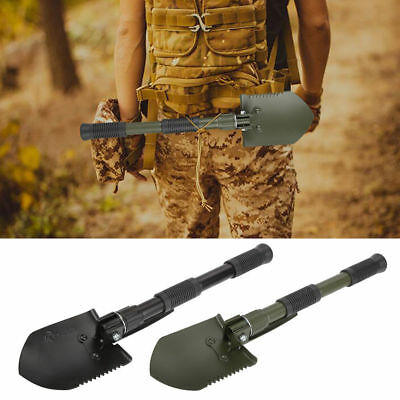 High Strength Folding Camp Shovel Military Tactical Emergency Survival Spade GL