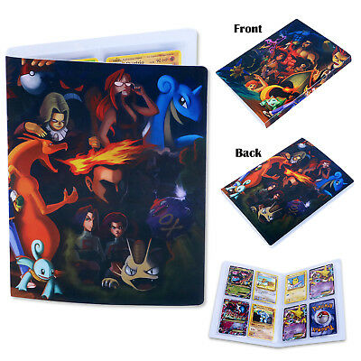 For Pokemon Trading Cards Game Collection Album Folder Binder Portfolio Pocket