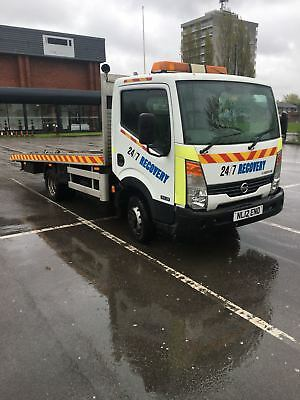 Nissan cabstar recovery truck/ vehicle/transporter