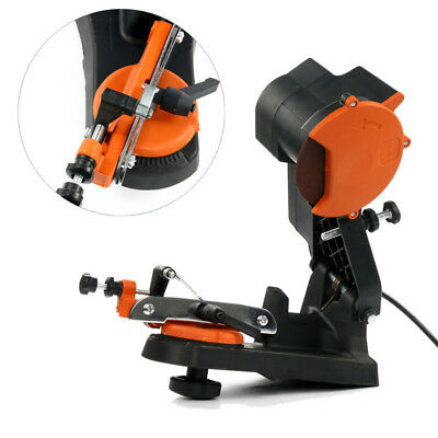 Electric Chainsaw Chain Saw Sharpener Grinder Wall Mount Tool,4800RPM 110V 60HZ