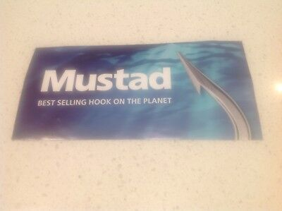 Mustad Fishing Hooks Sticker,fresh Salt Water Fishes,boats 4Wd Baits Rods Lures