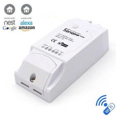 Sonoff POW  Real Time Energy Monitoring Consumption Timing Remote Control