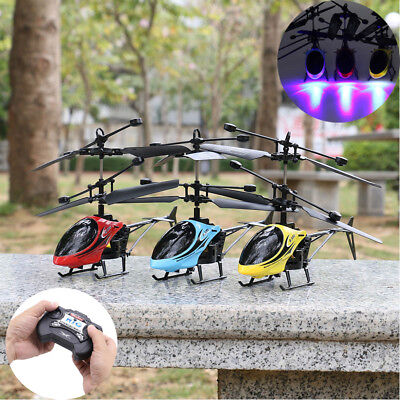 Cheerwing 3.5CH Mini Alloy Remote Control RC Helicopter Gyro Aircraft Flying Toy
