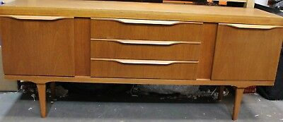 Vintage 1960's LARGE Retro Danish Scandinavian Style 3 Drawer Sideboard - 250
