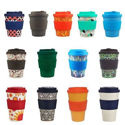 NEW Ecoffee Reuseable Coffee Cups Made From Natural Bamboo Fibre, Various Styles