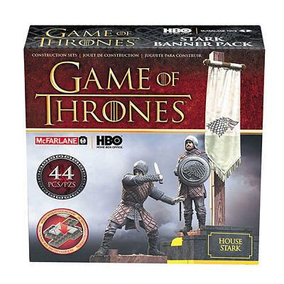 Game of Thrones McFarlane Toys Building-Sets Stark Banner Pack