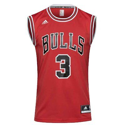 Adidas - NBA CHICAGO BULLS INT REP JRS WADE #3- CANOTTA BASKET - art.  CC2552