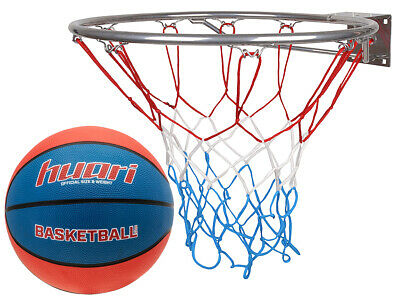 Basketballkorb Basketballset mit Ball Hangring Basketball Basketballspiel 45 cm