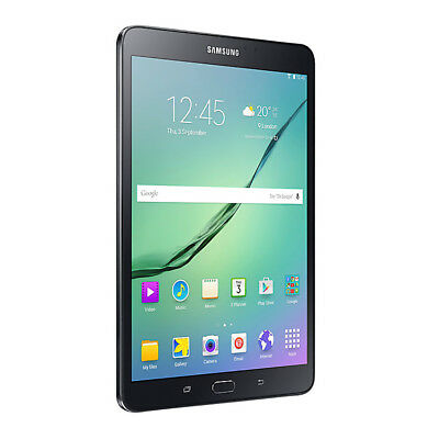 "Samsung Galaxy Tab S2 SM-T713 8"" 32GB 3GB Ram Android 8MP Cam WiFi Tablet  Black"