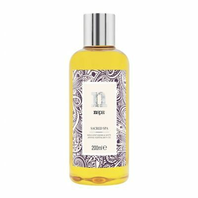 NSPA Sacred Spa Indulgent Jojoba & White Jasmine Foaming Bath Oil 200ml