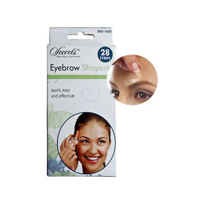 Eyebrow Shaper Strips - Face Wax Strips for Easy Hair Removal & Flawless Shape