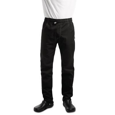 Le Chef Unisex Contemporary Slim Fit Chefs Resturant Trouser Button Bottoms