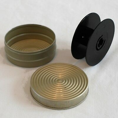Standard 8mm / Regular 8mm Spool and Can for cine camera use.